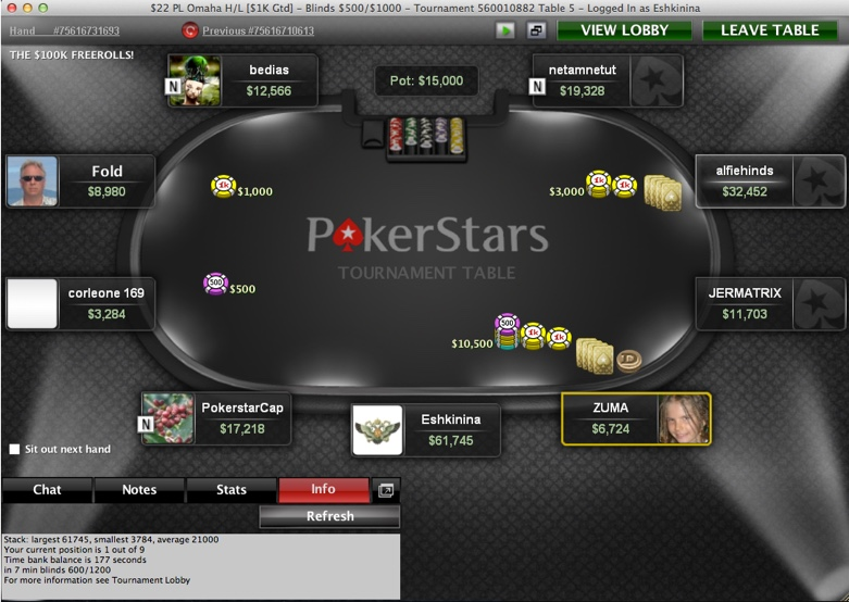 Pokerstars Live Support